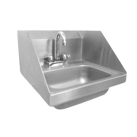 wall mount kitchen sink wall mount stainless steel 17 in 2 hole single basin