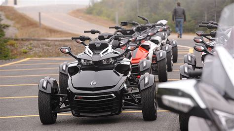 can am trike not a trike not a bike what is the 2015 can am spyder f3