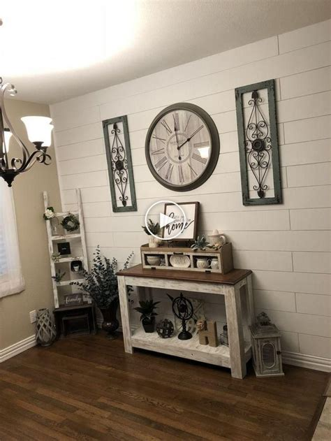 Farmhouse decor is relaxed and warm. 40 Rustic Farmhouse Living Room Design and Ideas To Get Unique Look #rustic #... #farmhou ...