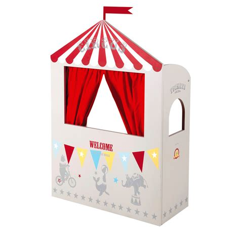 rideau chambre bébé théâtre de marionnettes pour enfants circus maisons du monde