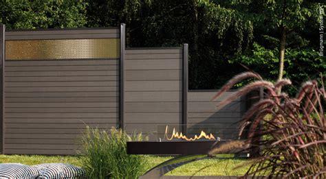 Sichtschutz Für Garten Und Terrasse by Wpc Z 228 Une Der Sichtschutz Ohne Pflegeaufwand Holz