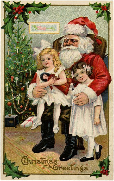 visit  santa image  graphics fairy