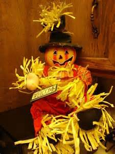 1993 20 fiber optic pumpkin scarecrow autumn d 201 cor new