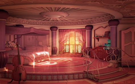 Princess Tiana Bedroom by Princess Room Afternoon By Jakebowkett On Deviantart