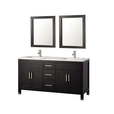60 bathroom vanity double sink lowes shop mtd vanities espresso undermount double sink bathroom