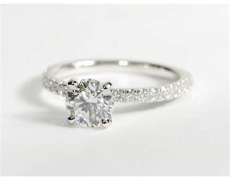 0 9 carat diamond pav 233 diamond engagement ring recently purchased blue nile