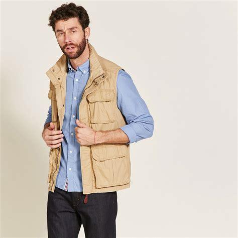 cannes si鑒es gilet sans manche homme multipoches aigle sweater vest
