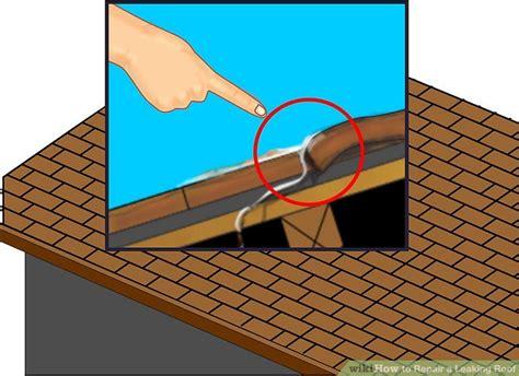 4 Ways To Repair A Leaking Roof Hot Tar Roofers Roofing Supplies Harrisburg Pa Diy Cross Bar Roof Rack Black Car Benefits Rv Rubber Coating Reviews Davinci Slate Tear Off Estimate Metal Installers Atlanta Ga