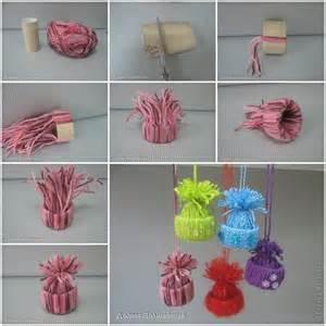 creative ideas diy adorable tree ornaments with yarn or twine