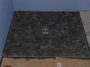 Bac De Douche À L Italienne : carreler pour en finir avec le sol notre maison ossature bois ~ Farleysfitness.com Idées de Décoration