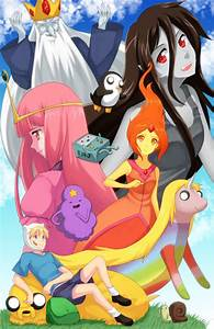Hora de Aventura versión anime Taringa!