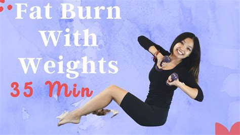 Pilates With Weights | Fat Burn Arms, Belly & Hips | On ...