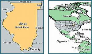Where is Illinois state? / Where is Illinois Located in ...