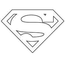 superman template clipart