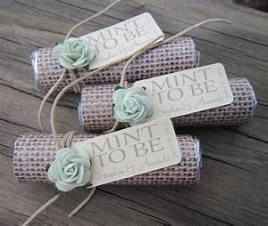 mint wedding favors set of 24 mint rolls mint to With wedding favors mint to be