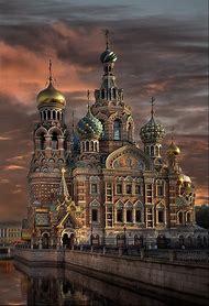 St. Petersburg Russia Church
