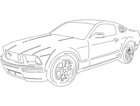 mustang dxf file   axisco