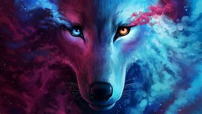 Wolf Flame Galaxy 1080p Laptop Mobile
