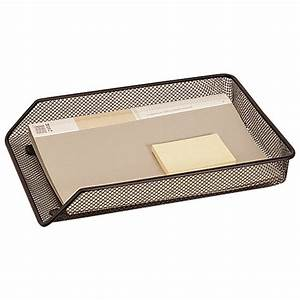 q connect mesh letter tray a4 black kf00858 officestuffie With mesh letter tray