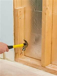 Framing the Window Opening - How to Install New Windows in