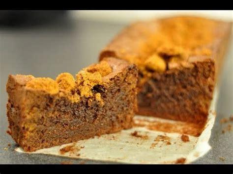 hervé cuisine cake chocolat recette facile cake au chocolat spéculoos par hervé