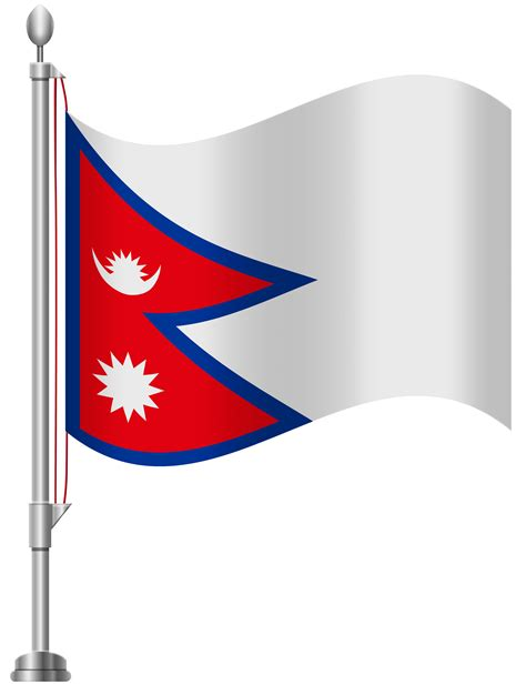 Library of nepal flag png freeuse png files Clipart Art 2019