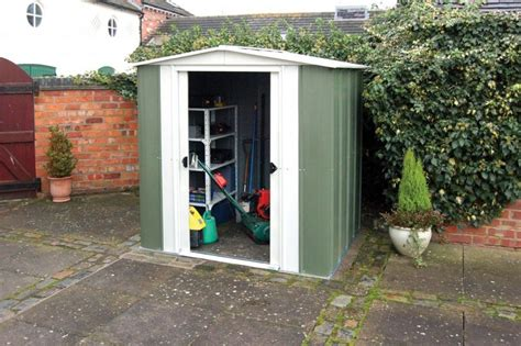 6x5 shed door metal apex shed 6x5 from rowlinsons