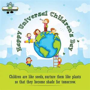 Established in 1954, Universal Children's Day is ...