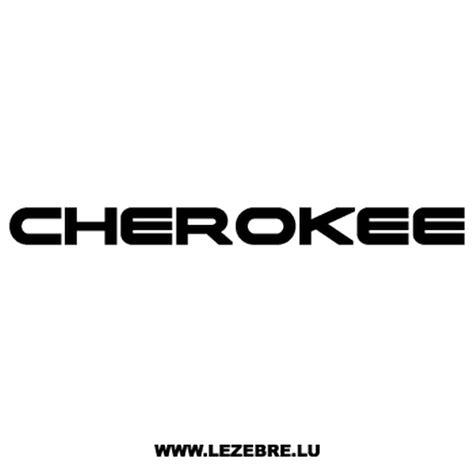 jeep cherokee logo jeep cherokee decal