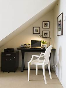 20 home office design ideas for small spaces for Home office ideas for small space