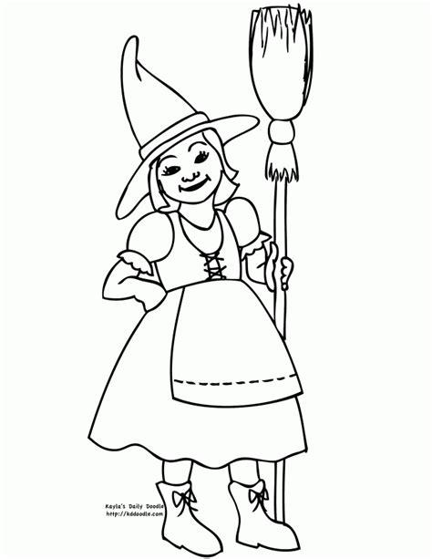 kleine hexe zum ausmalen malvorlagen