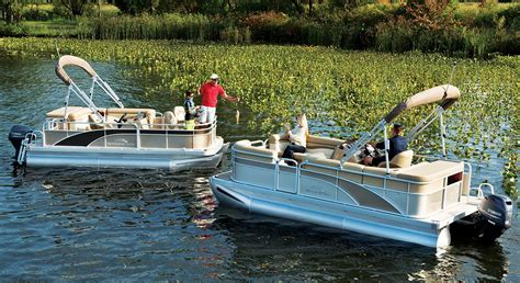 Trailerable Express Boats by S Series Pontoon Boats By Bennington
