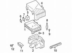 Volkswagen Tiguan Fuse And Relay Box  A Component That