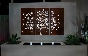 Outdoor wall art ideas gecko metal decor large