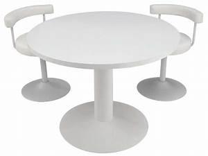 Table Ronde Cuisine : table ronde fjord coloris blanc conforama pickture ~ Teatrodelosmanantiales.com Idées de Décoration