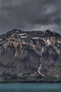 Free, Dark, Mountain, Stock, Photo