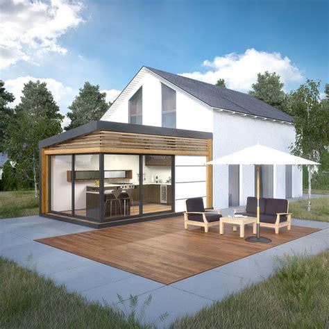 cour de cuisine lyon extension de maison cozyhome contemporain véranda et
