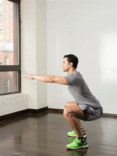 Workout Squat Plan Routine Exercise Gifs Fitness