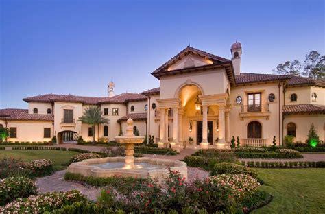 mediterranean home builders stunning mediterranean mansion in houston tx built by