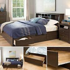 platform bed woodworking plans diy pedestal king easy ebay