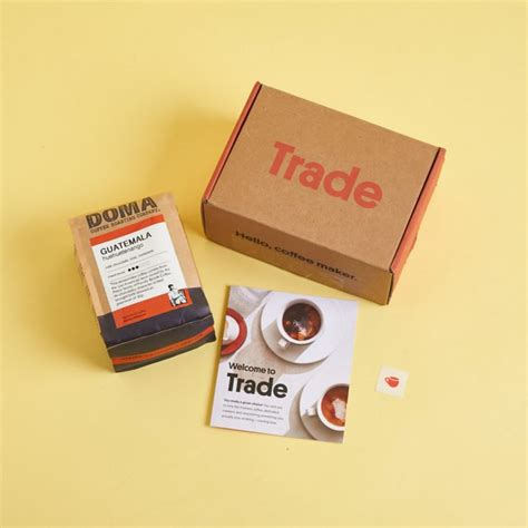 Trade coffee is the most prominent example of the former: 33 Best Coffee Subscription Boxes of 2020, For All Tastes   MSA