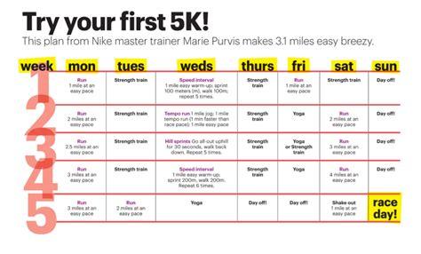 to 5k plan 5k running program newsaidco