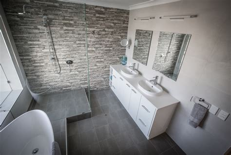 modern bathroom renovation start  finish resolutions