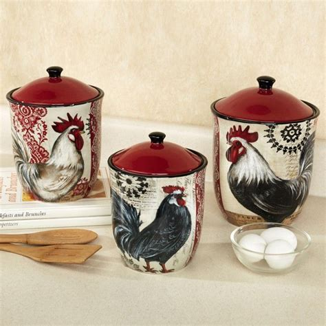 rooster kitchen canisters 321 best cool kitchen canisters images on