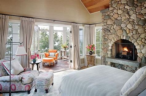 beautiful cottage bedroom design decorating with a country cottage theme