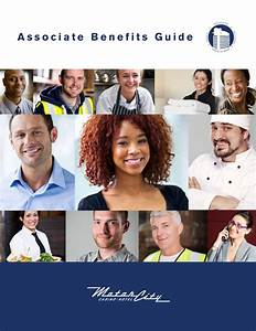 Associate Benefits Guide Oe2019  Compressed  By Motorcity