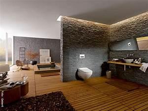 Bad In Stein : luxusbadezimmer wohnen ~ Bigdaddyawards.com Haus und Dekorationen