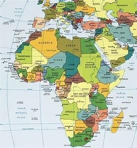 afrika kaart een met veel Quotes