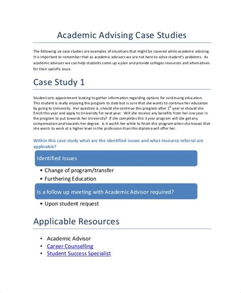 There are multiple ways of making the process of completing the assignment easier, including ordering a task at a structured abstracts are used in scientific studies, when you need to provide a list of information or questions, which will be later studied in the text. 10+ Case Study Templates - Free Sample, Example, Format ...