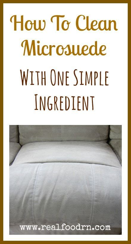 how to clean your sofa how to clean a microsuede couch with one simple ingredient
